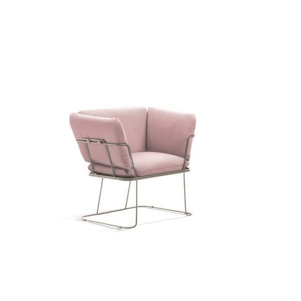 Merano Lounge Chair by B-LINE