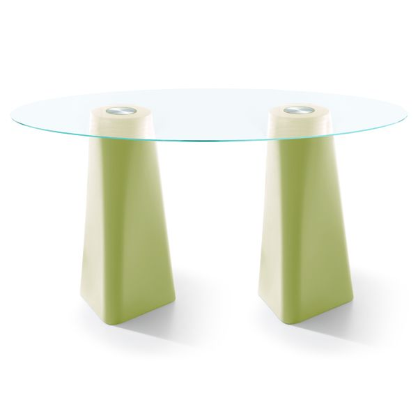 Adam Oval Dining Table by B-LINE