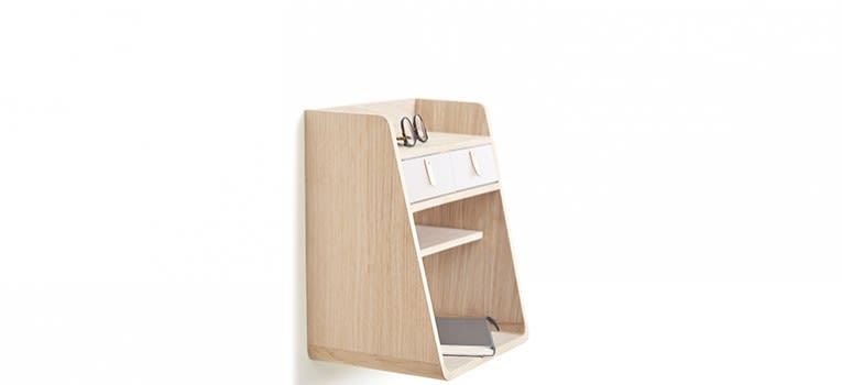 Suzon Wall-mounted Storage by HARTÔ