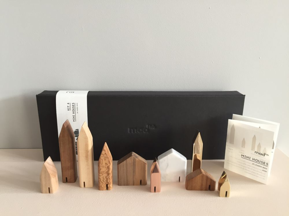 Miniature Houses by Mad Lab