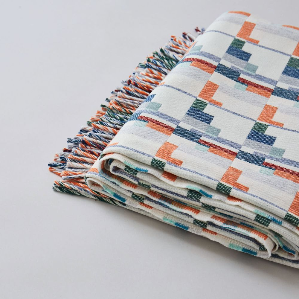 Blocks Blanket by Flock