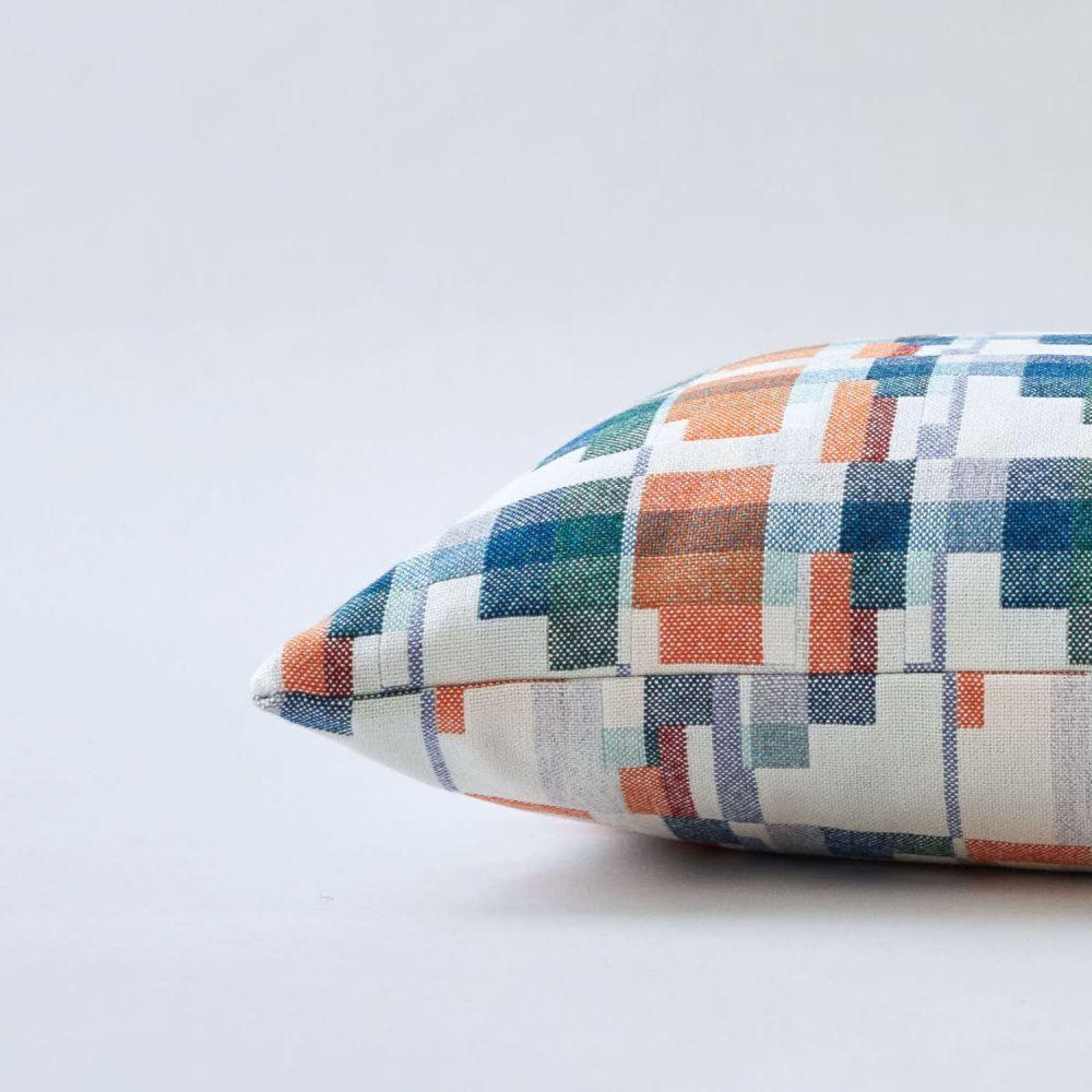 Blocks Cushion by Flock