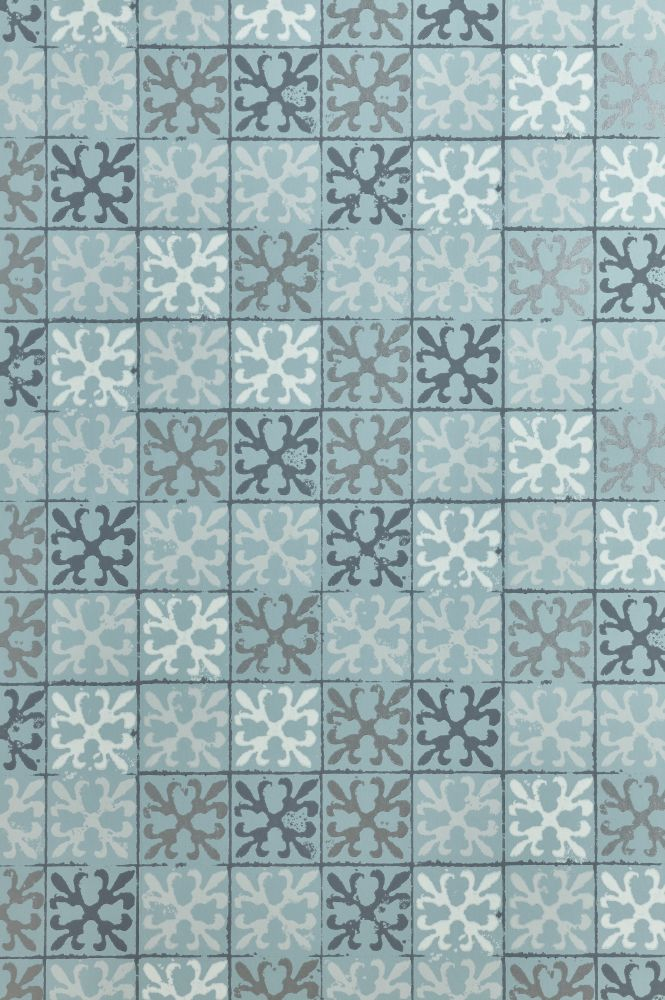 Fleur de Lys Tile Wallpaper  by Barneby Gates