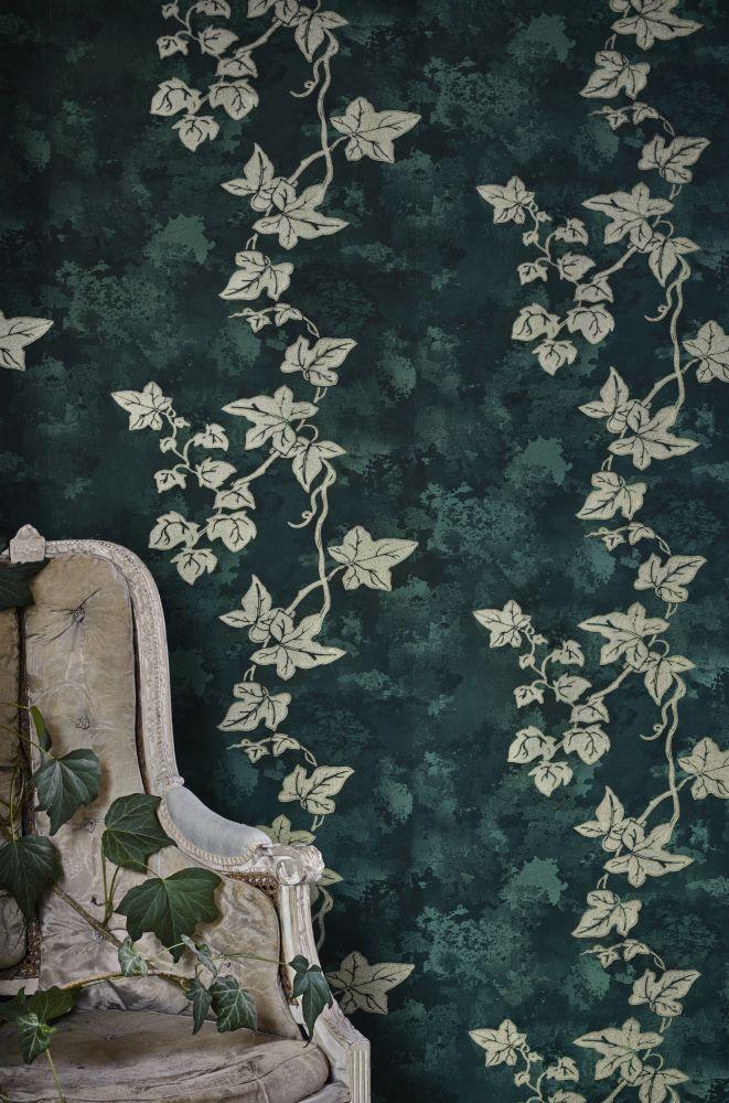 Ivy Wallpaper by Barneby Gates