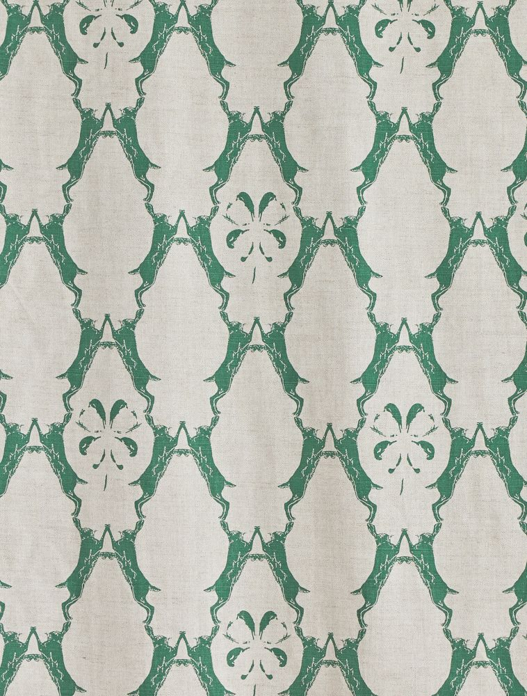 Boxing Hares Fabric  by Barneby Gates