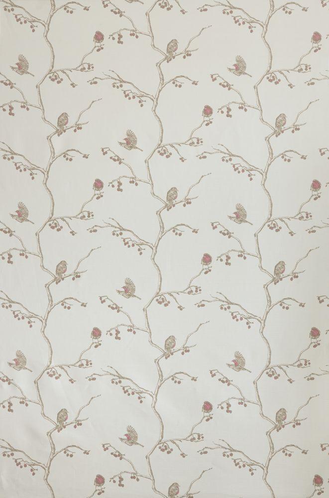 English Robin Fabric  by Barneby Gates