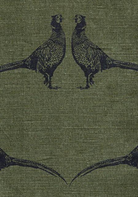 Pheasant Fabric  by Barneby Gates