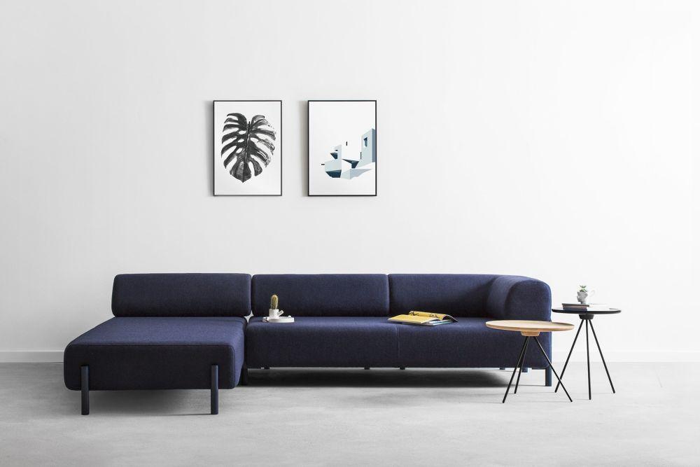 Hem Design palo lounger blue by hem design studio for hem