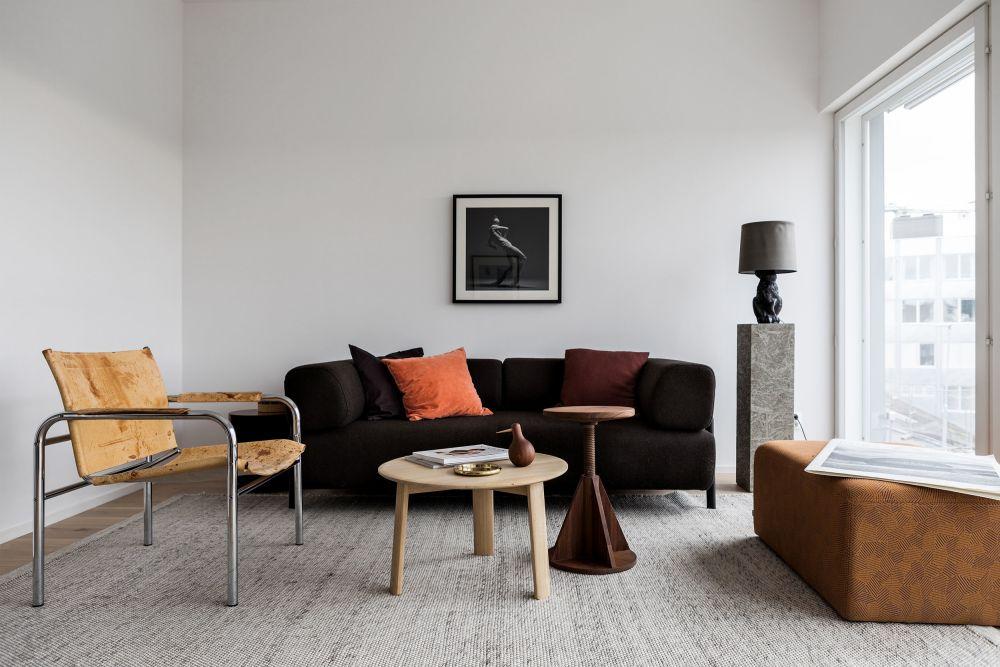 Hem Design koti 3 seater sofa dash charcoal by form us with for hem