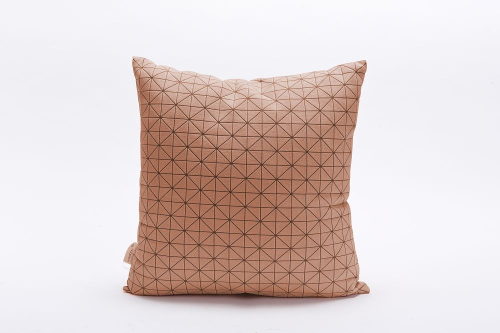 Geo Origami Square Cushion Cover by Mikabarr