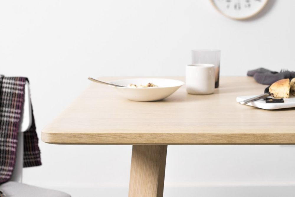 Alle Conference Table Natural Oak Cm By Staffan Holm For Hem - Conference table accessories