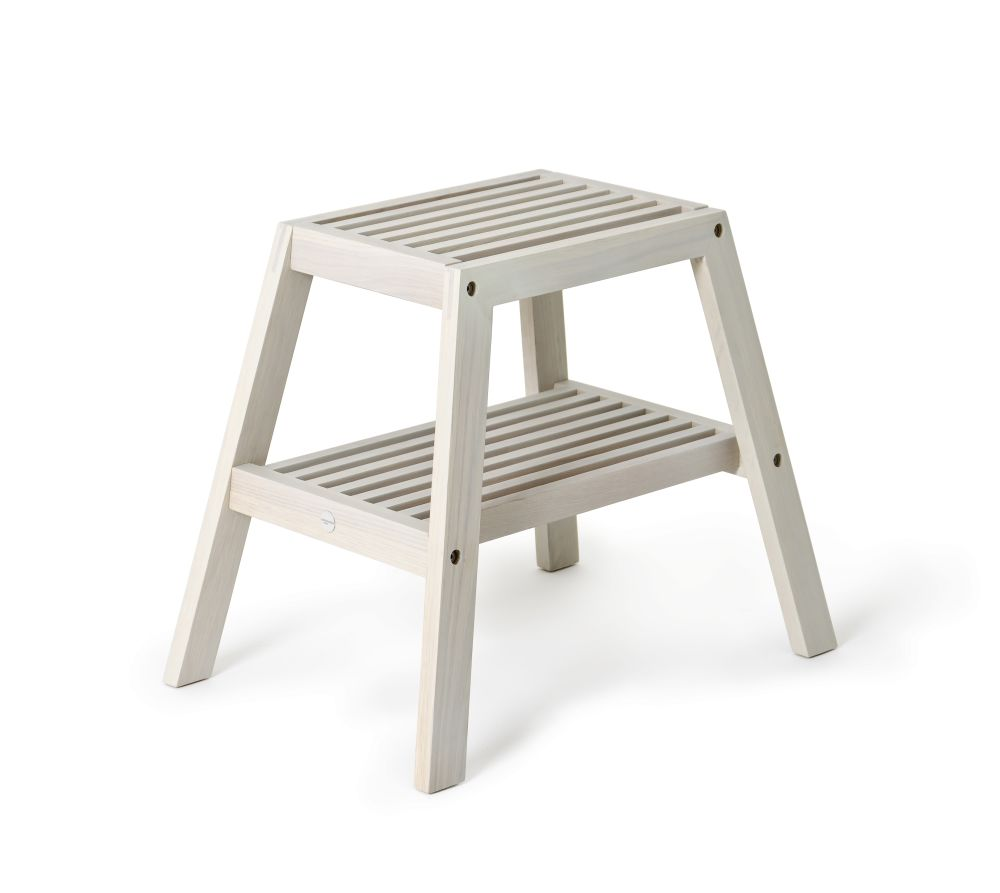 Slatted Stool by Wireworks