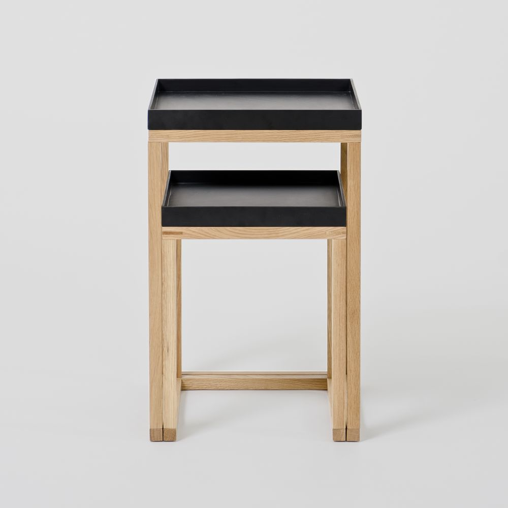 Nest Pair of Tables by Wireworks