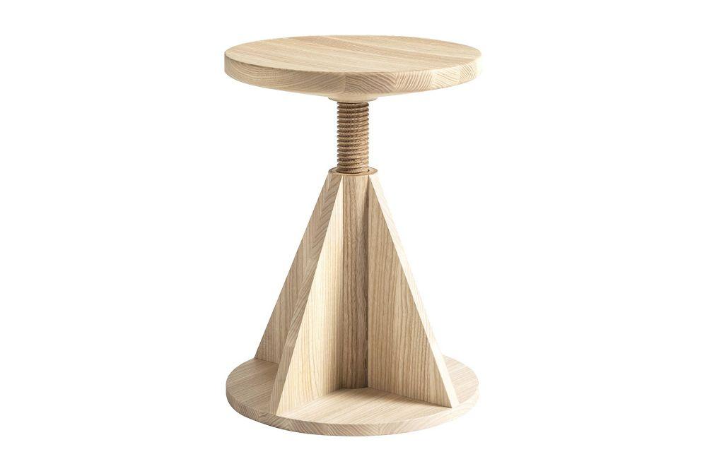 All Wood Rocket Stool by Hem