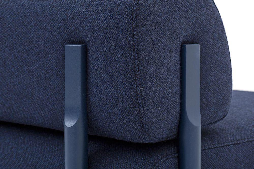 Palo 2-Seater Sofa with Armrest by Hem