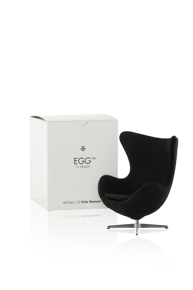 Miniature Egg Chair - Set of 2 by Republic of Fritz Hansen