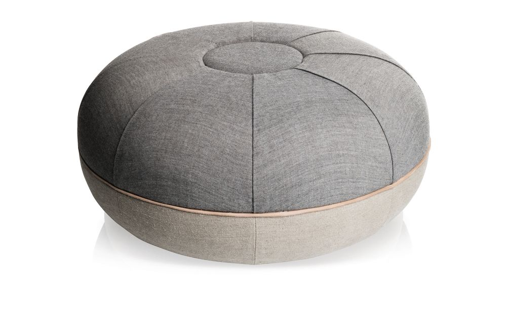 Cecilie Manz Large Pouf by Republic of Fritz Hansen