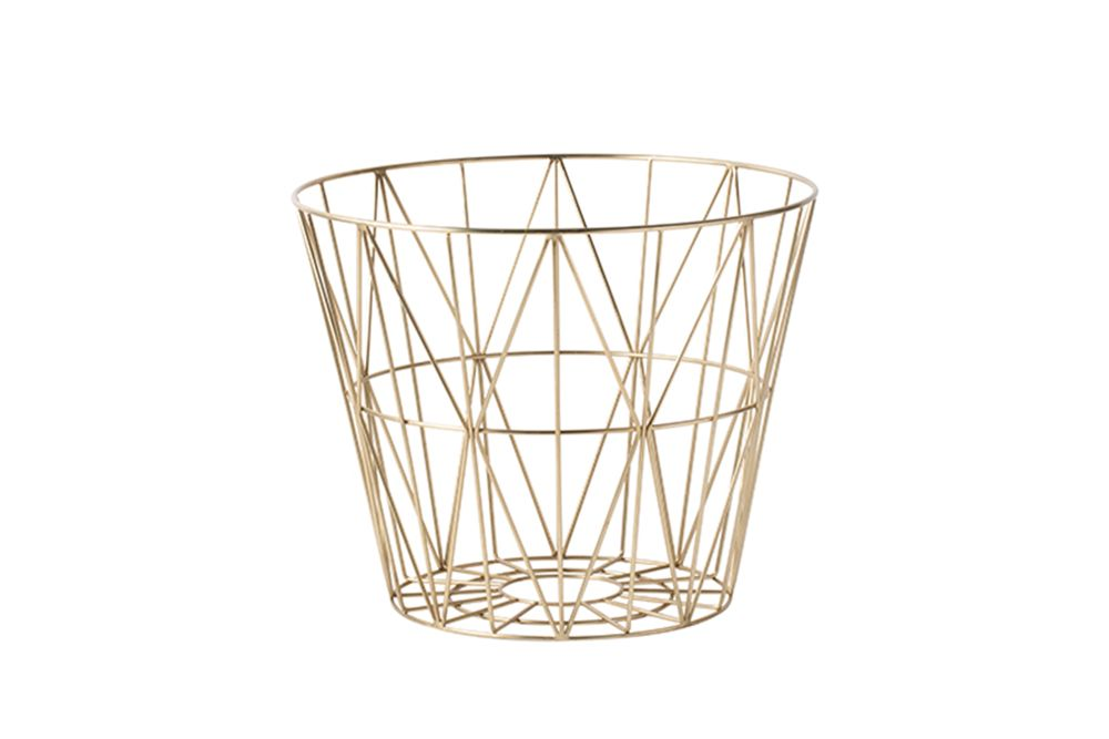 Wire Basket - Set of 4 by ferm LIVING