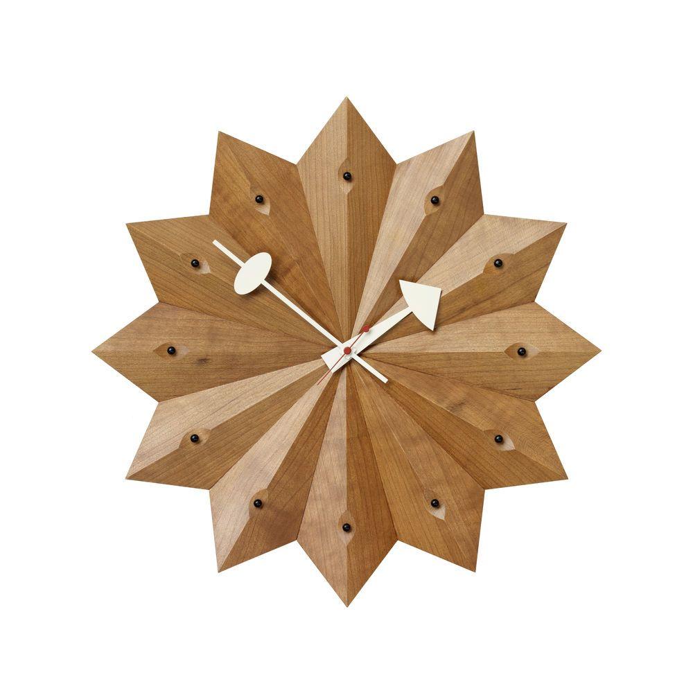 Fan Wall Clock by Vitra