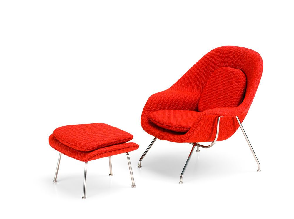 Miniature Womb Chair & Ottoman by Vitra