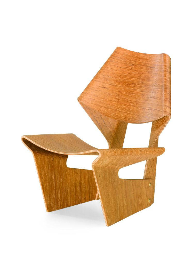 Miniature Laminated Chair by Vitra