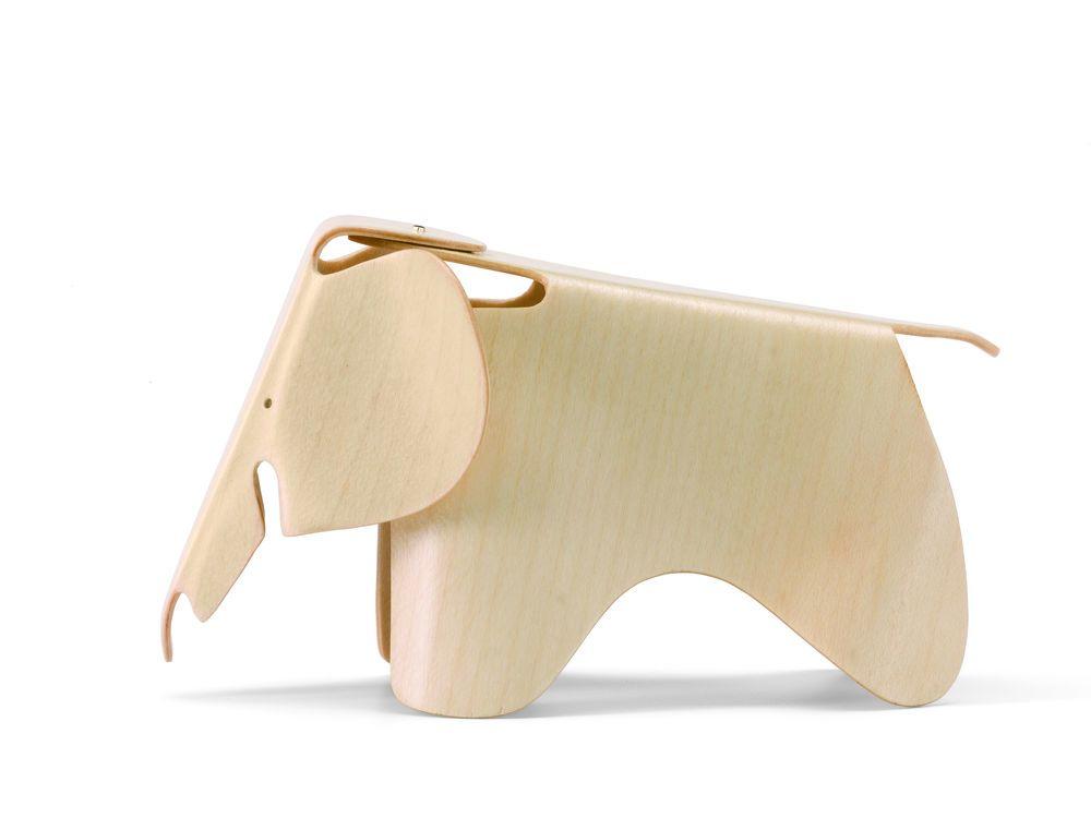 Miniature Plywood Elephant by Vitra