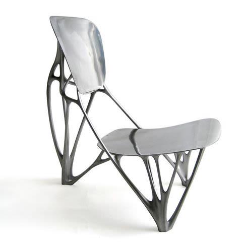 Miniature Bone Chair by Vitra