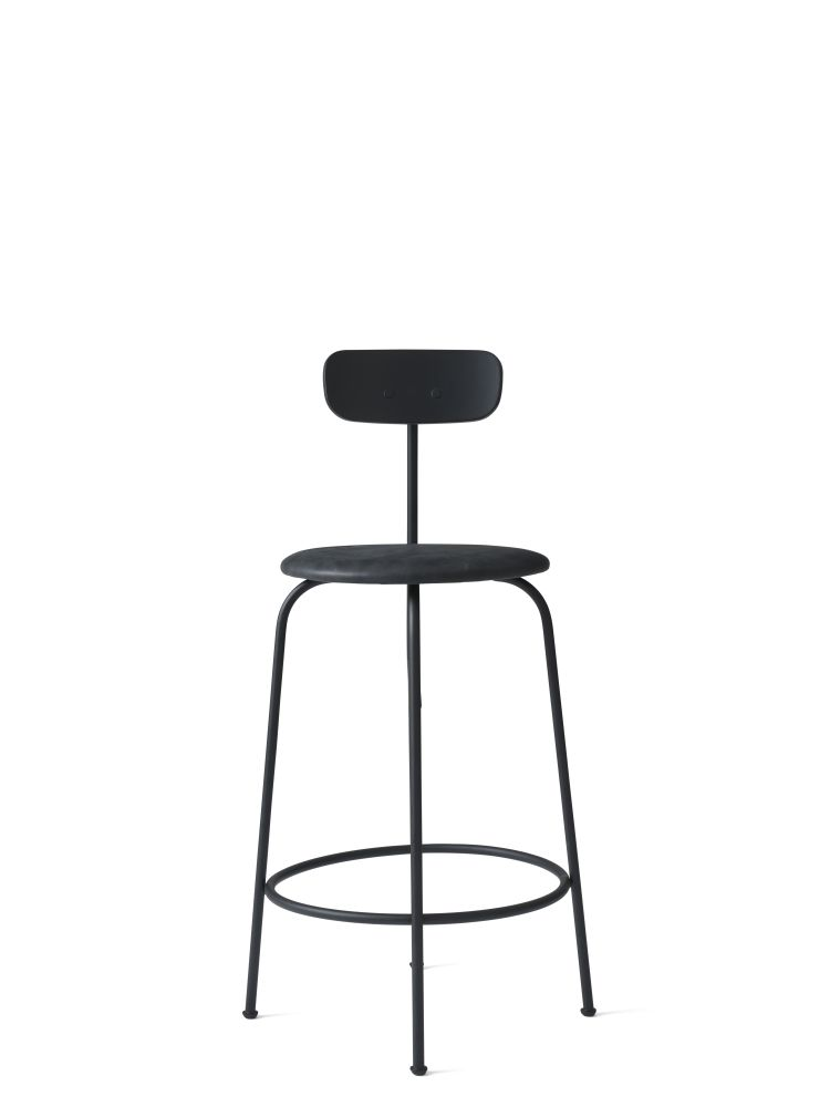 Afteroom Counter Chair with Upholstered Seat by Menu