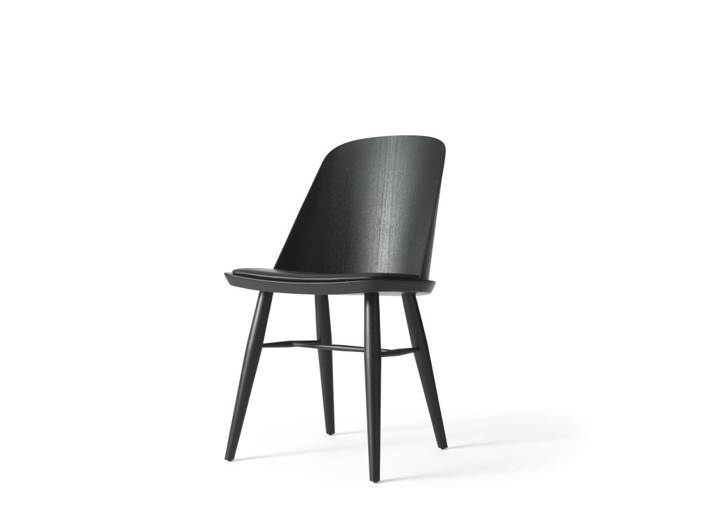 Synnes Upholstered Seat Dining Chair by Menu