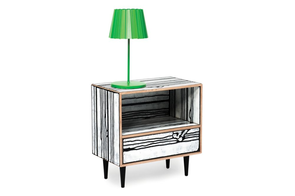 Wrongwoods Night Table - L58.5 by Established & Sons