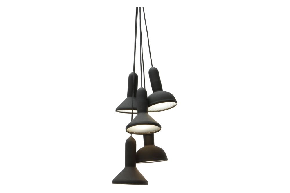 Torch Pendant Light, Bunch - S5 by Established & Sons