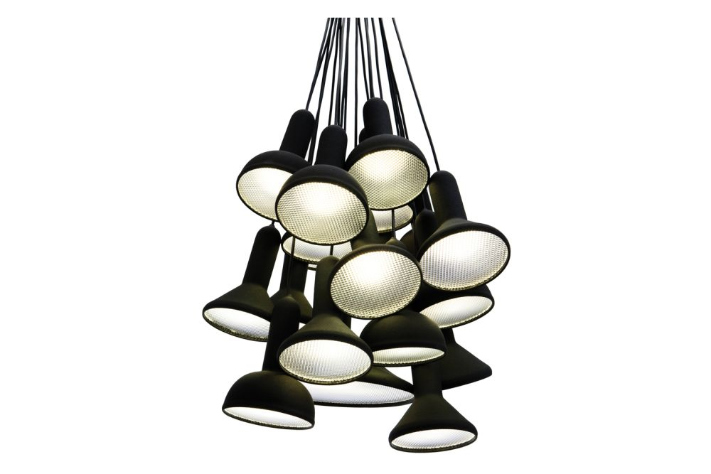 Torch Pendant Light, Bunch - S20 by Established & Sons