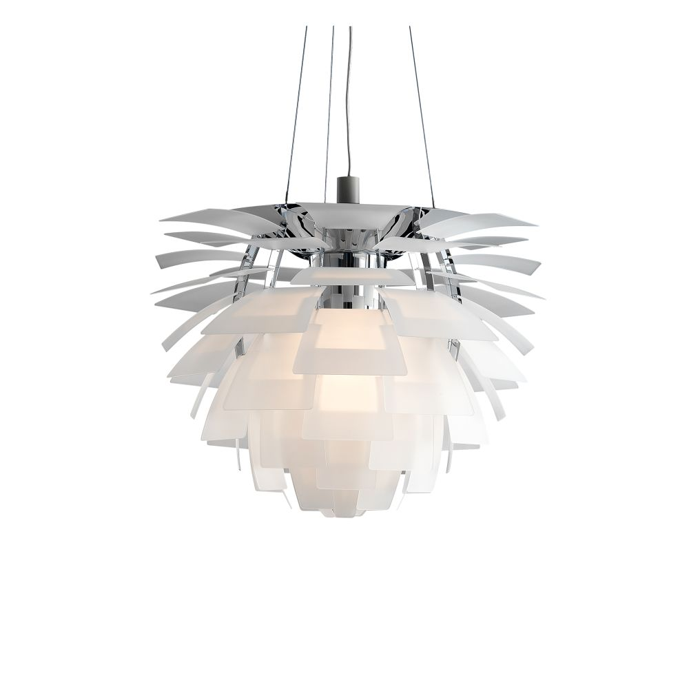 Ph artichoke pendant glass light 59w led 2700k by louis poulsen aloadofball Image collections