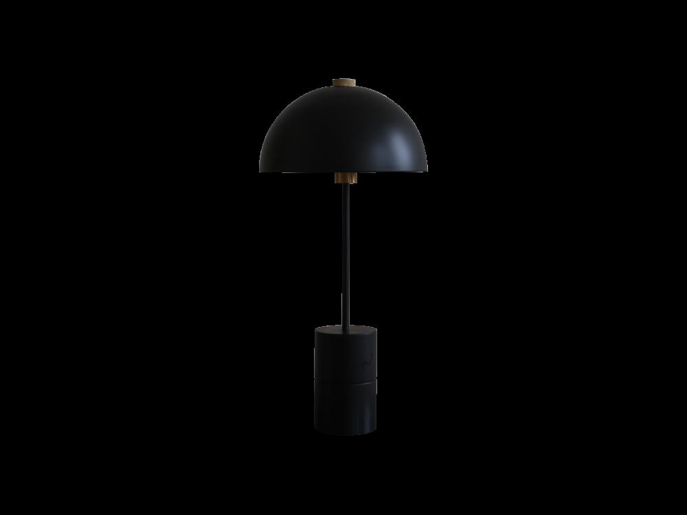 Studio Table Lamp, Brass Details by HANDVÄRK