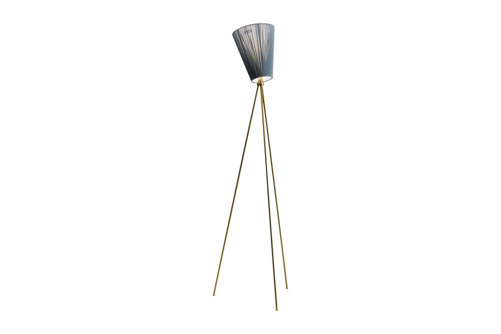 Oslo Wood Floor Lamp by Northern
