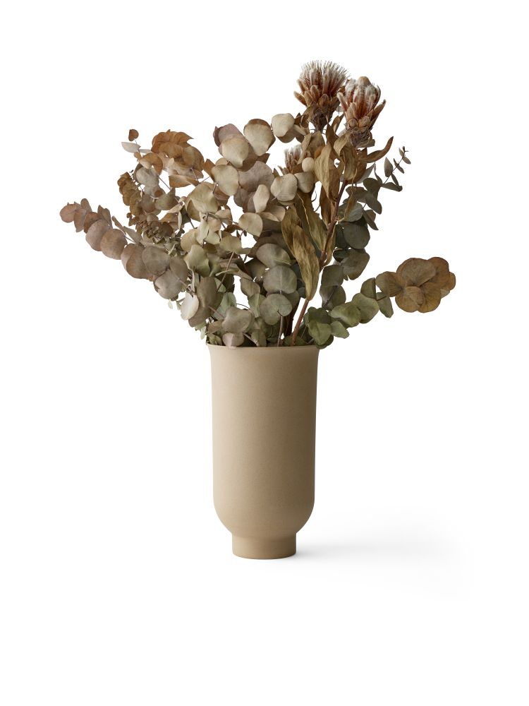 Cyclades Vase Set Of 2 Sand L By Nick Ross For Menu Clippings