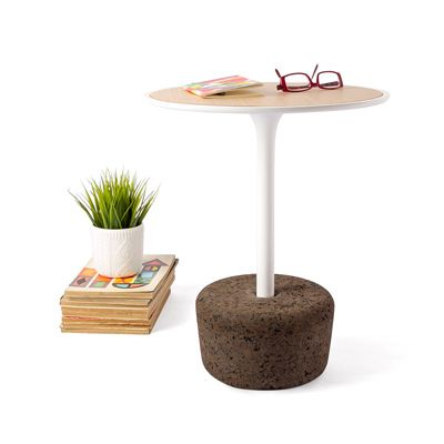Flora Small Tall Coffee Table Warm White Tall By Dam - Santos coffee table