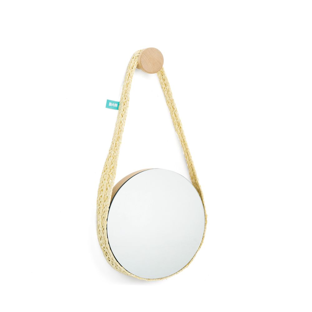 Bela Small Wall Mirror by Dam
