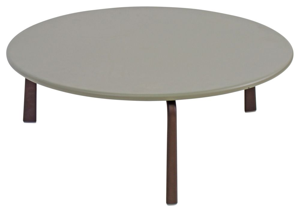 Cross Round Coffee Table by EMU