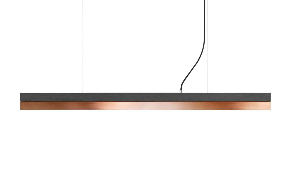 [C] Concrete & Copper Pendant Light (92cm or 122cm) by GANTlights