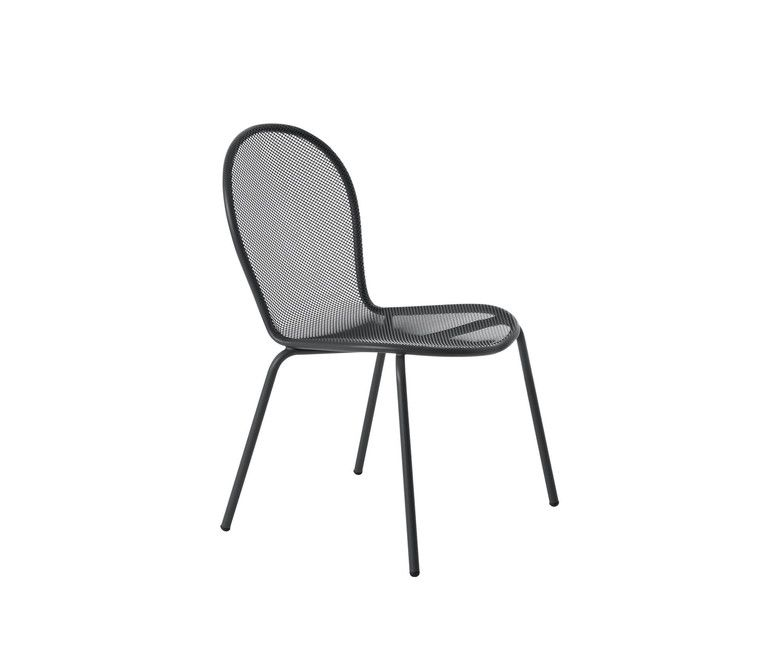 Ronda Dining Chair   Set Of 6 Aluminium 20 By Aldo Ciabatti For EMU  Clippings