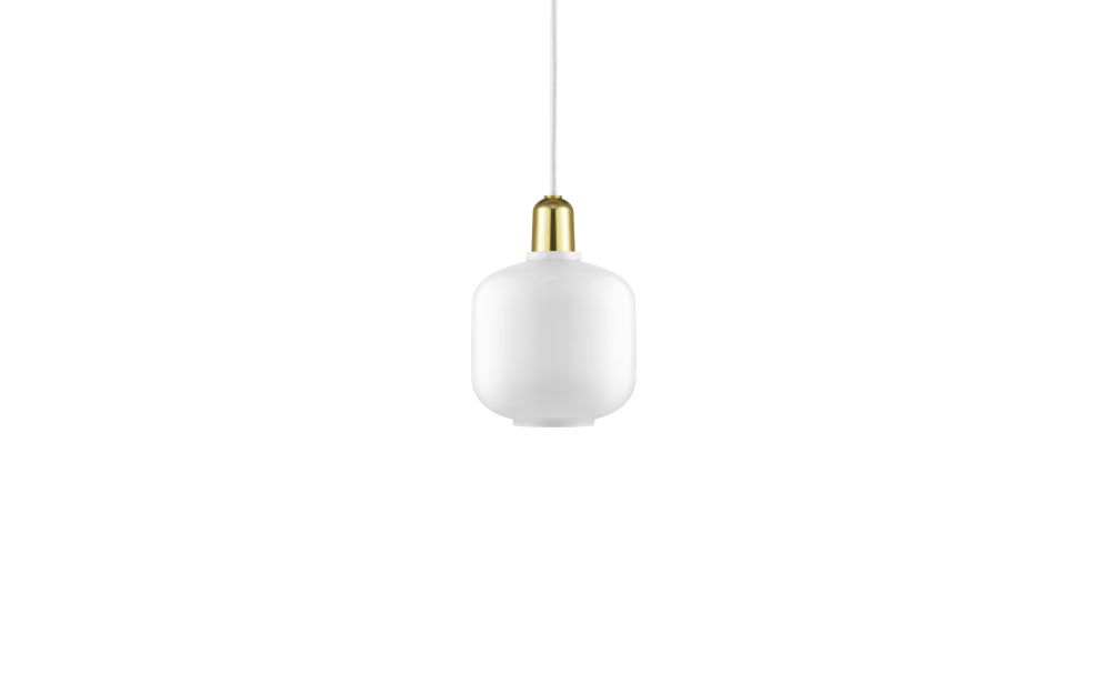 Amp Lamp Small Eu Smoke Black Normann Copenhagen