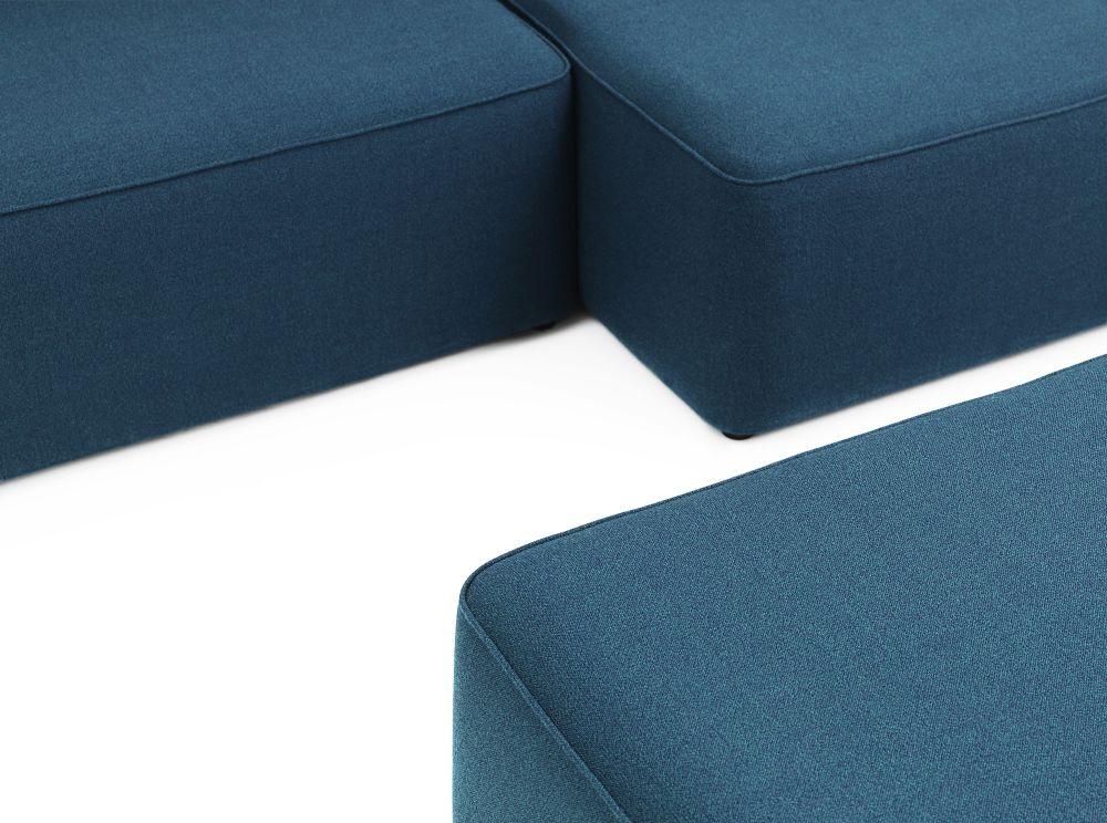 Rope Modular Sofa 410 Wide Chaise Longue Center by Normann Copenhagen