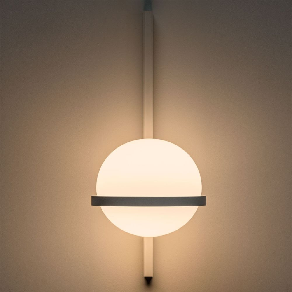Palma 3710 Wall light Matt graphite lacquer by Antoni Arola for Vibia