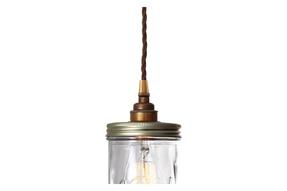 Jam Jar Pendant Light by Mullan Lighting