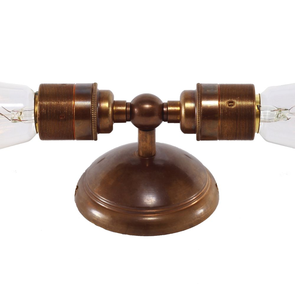 Lome Double Wall Light by Mullan Lighting