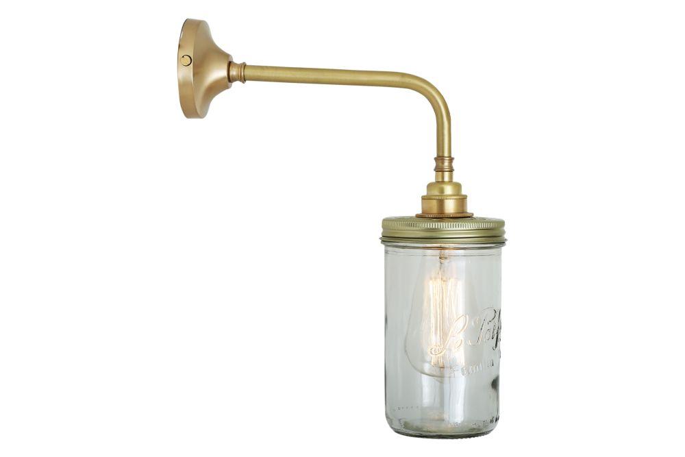 Jam Jar Wall Light by Mullan Lighting