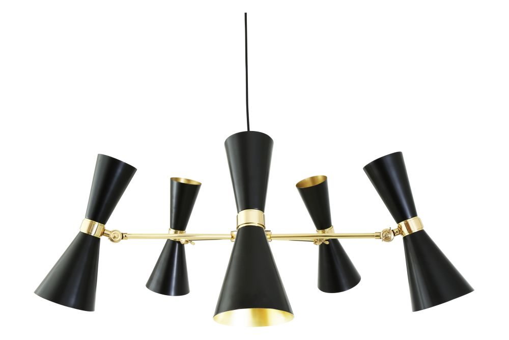Cairo 5 Arm Chandelier by Mullan Lighting