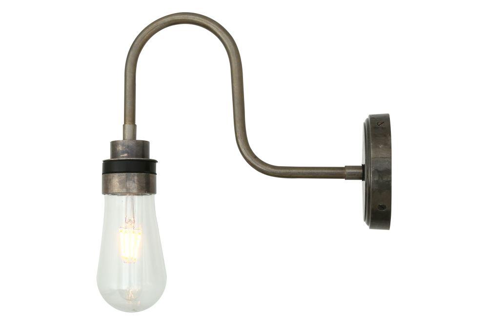 Bo Swan Neck Wall Light by Mullan Lighting