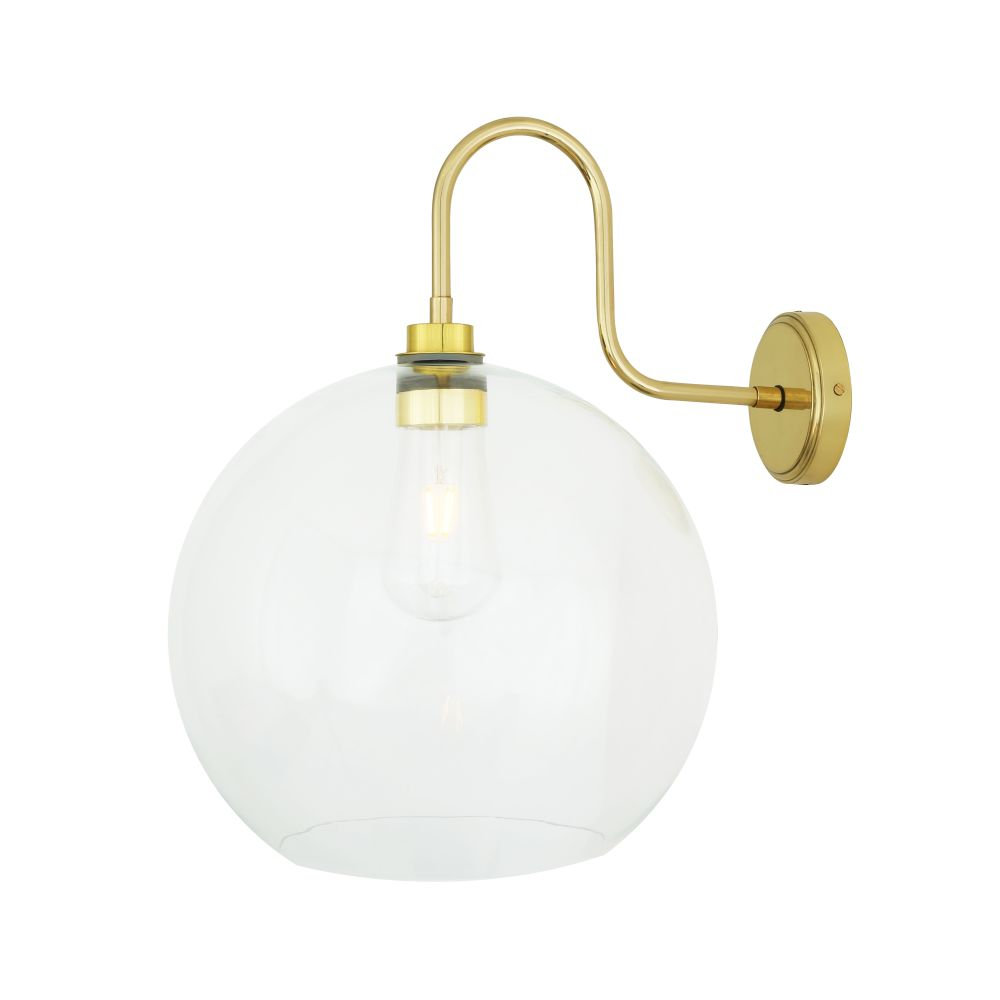 Leith Swan Neck Wall Light by Mullan Lighting